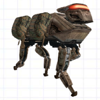 Legged Squad Support System - Legged Squad Support System, conceptual design