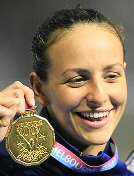 Leila Vaziri Swimming World Championship 2007.jpg
