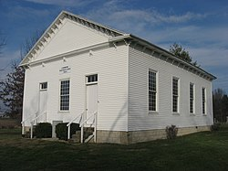 Lemmon Presbyterian Church, a historic site in the township