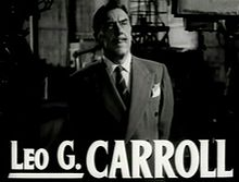 Leo G Carroll in The Bad and the Beautiful trailer.jpg
