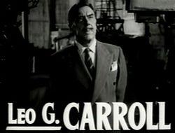 affiche Leo G. Carroll