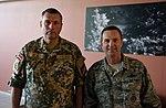 Leonīds Kalniņš and Joseph Lengyel 170610-Z-DZ751-039 (34903671824).jpg
