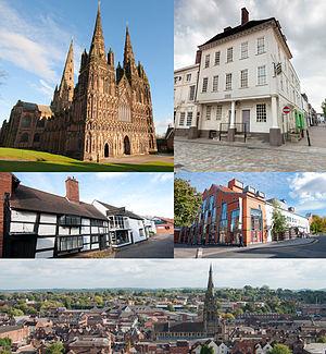Lichfield - Image: Lichfield Collage