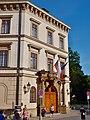 Lichtenštejnský palác na Kampě vjezd.JPG