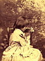 Liddell, Alice Pleasance in profile (Lewis Carroll, Summer 1858).jpg