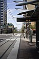 Light Rail Stop, Copper Square, Phoenix, Arizona - panoramio.jpg