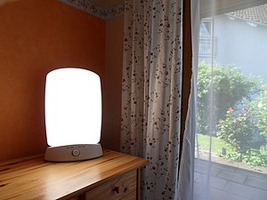 English: Light therapie lamp Philips HF3319/01...