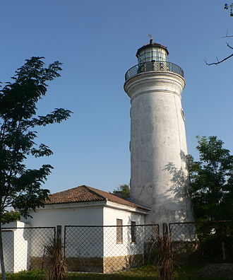 Sulina - Image: Lighthouse in Sulina