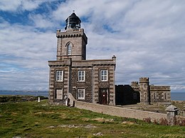 Lighthouse on the Isle of May - geograph.org.uk - 1530509.jpg