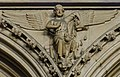 Lincoln Cathedral, St Michael weighing souls (31886471730).jpg