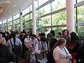 Line for FLOW panel at FanimeCon 2010-05-29 1.JPG