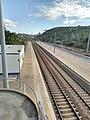 Linha do Norte through Chão de Maçãs-Fátima train station.jpg