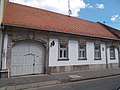 Listed Plitzner-Buday house in Almagyar Street, Eger, 2016 Hungary.jpg