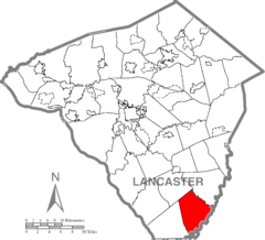 Little Britain Township, Lancaster County Highlighted.png