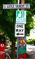 Little Gilbert St, One Way (3027043869).jpg