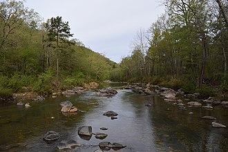 Little Missouri River (Arkansas) - Little Missouri River in Ouachita National Forest