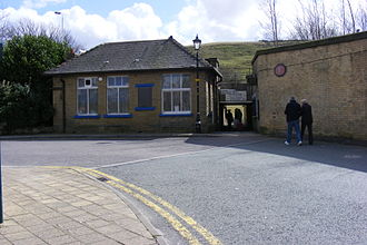 Littleborough railway station - Station approach