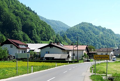 How to get to Ljubgojna with public transit - About the place