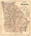 Lloyd's Topographical map of Georgia from state surveys before the war showing railways, stations, villages, mills, etc. LOC 2008628279.jpg