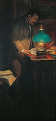 Portrait of the Art Critic and Writer Raimon Casellas