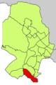 Localització de Cala Major respecte del Districte de Ponent.png