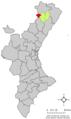 Localització de Vilafranca respecte del País Valencià.png