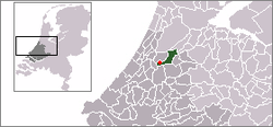 Location of Hoogmade