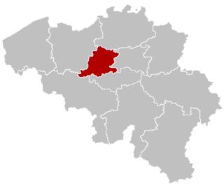 Brussels-Halle-Vilvoorde former constituency in Belgium