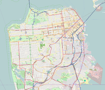 Infobox park is located in San Francisco County