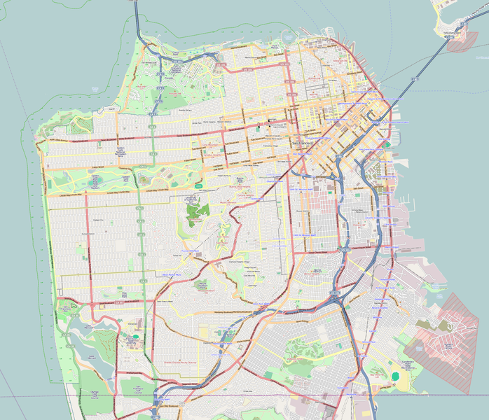 File:Location map San Francisco County.png