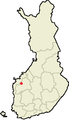 Location of Ylistaro in Finland.png