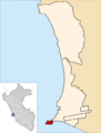 Location of the district La Punta in Callao.png