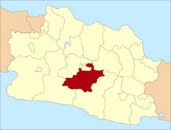 Daftar kecamatan dan kelurahan di Kabupaten Bandung ...