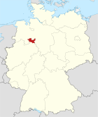 Locator map MI in Germany.svg