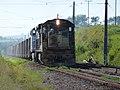 Locomotiva de comboio que passava sentido Boa Vista pelo pátio da Estação Pirapitingui em Itu - Variante Boa Vista-Guaianã km 186 - panoramio.jpg