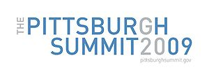 2009 G20 Pittsburgh summit - Image: Logo Pittsburgh summit