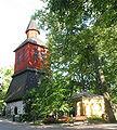 Lohja Pyhän Laurin kirkko, tapuli.jpg