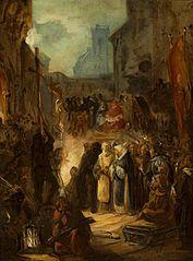 Scena z inkwizycji