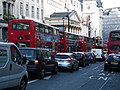 London double-decker buses, 6 August 2011.jpg