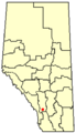 Longview, Alberta Location.png
