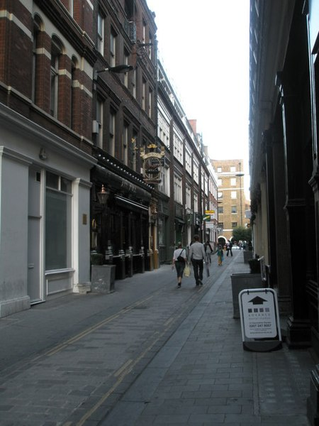 File:Looking from Bishopsgate along Devonshire Row - geograph.org.uk - 1021531.jpg