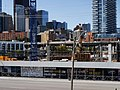 Looking north, at construction NW corner of Lower Jarvis and Queen's Quay, from the grassy knoll at Sugar Beach, 2016-08-07 (2).JPG - panoramio.jpg