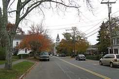 Looking west on Main St, Sandwich MA.jpg