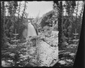 Lower falls of Lake Fork. San Cristobal Quadrangle. Hinsdale County, Colorado. - NARA - 517594.tif
