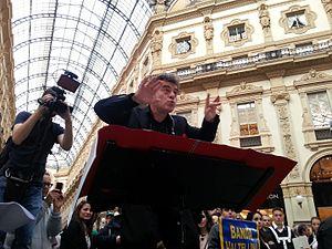 Luca Francesconi - Luca Francesconi conducting Fresco, Galleria Vittorio Emanuele, Milano, October 2015