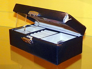 Who Killed Lucy Beale? - The jewellery box prop that was the murder weapon in the storyline.