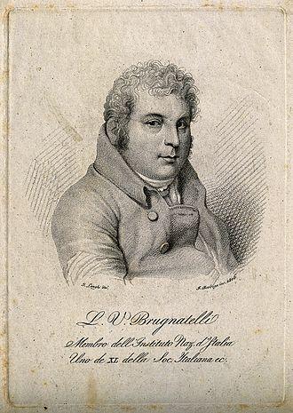 Electroplating - Luigi Valentino Brugnatelli