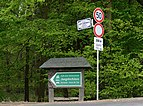 Luxembourg City rue des Sept-Arpents Juegdschlass signs.jpg