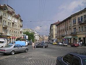 Вулиця Городоцька неподалік від центру Львова 5426f75336171