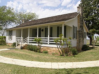 Lyndon B. Johnson National Historical Park - President Johnson's birthplace in Gillespie County